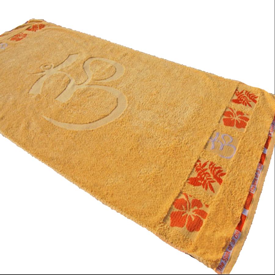 Porte bonheur om paradis serviettes et draps de bain - Drap de bain bio ...