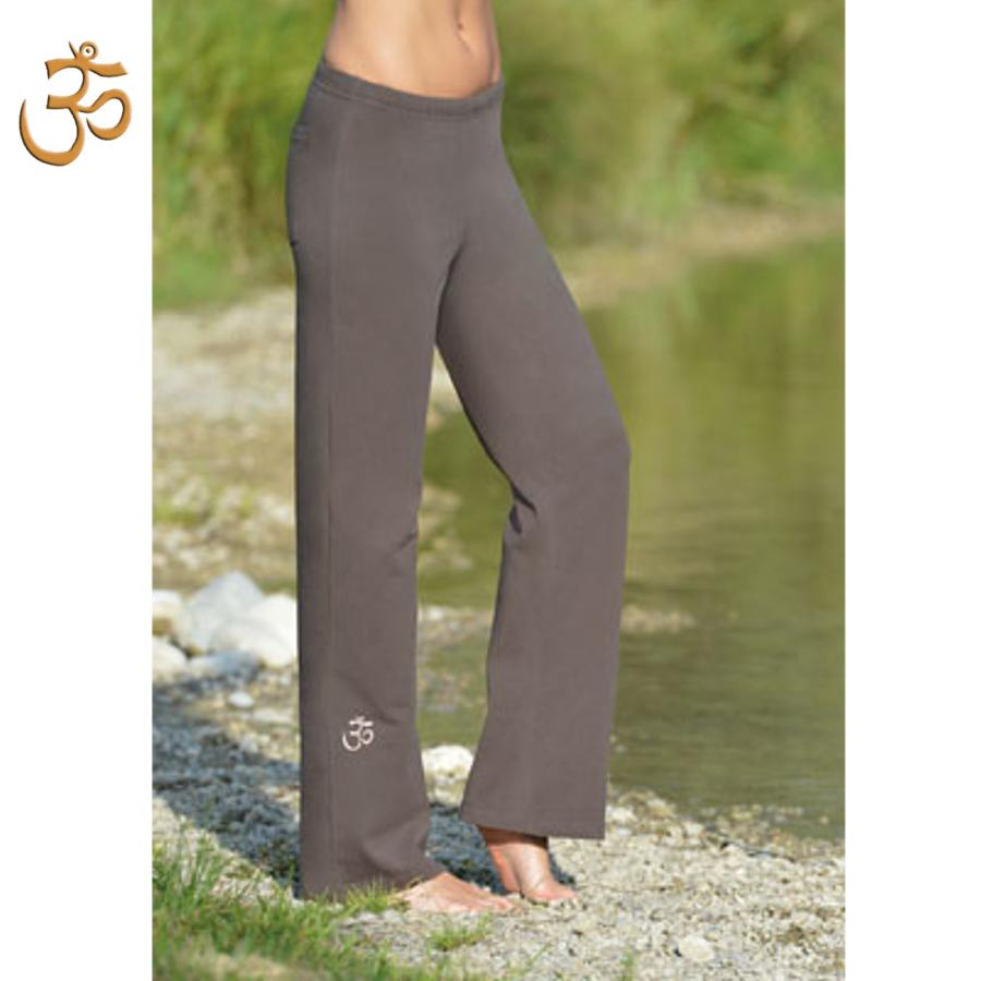 Pantalons PANTALON de yoga et bien-être CHOCOLAT