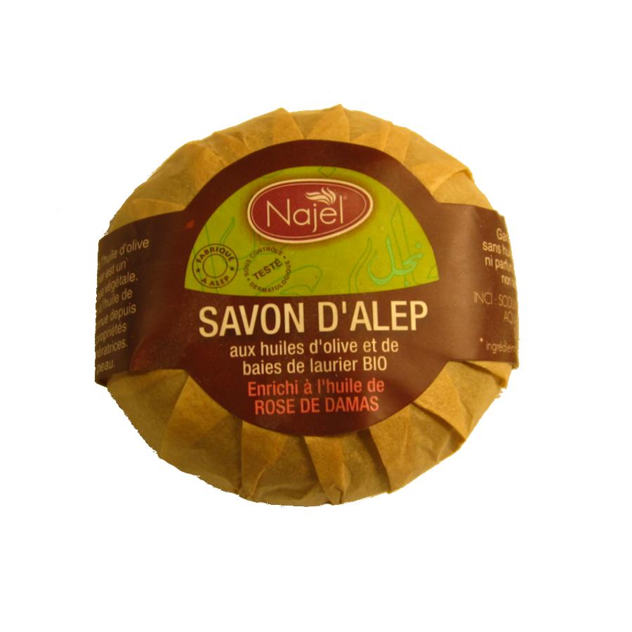 Savons d'Alep SAVON D'ALEP À L'HUILE DE ROSE DE DAMAS