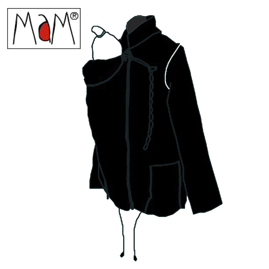 Racine MaM Two Way Jacket NOIR – imperméable