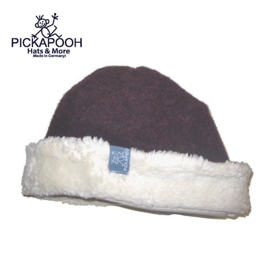 Bonnets hivers PICKAPOOH - Bonnet en laine JO - CASSIS