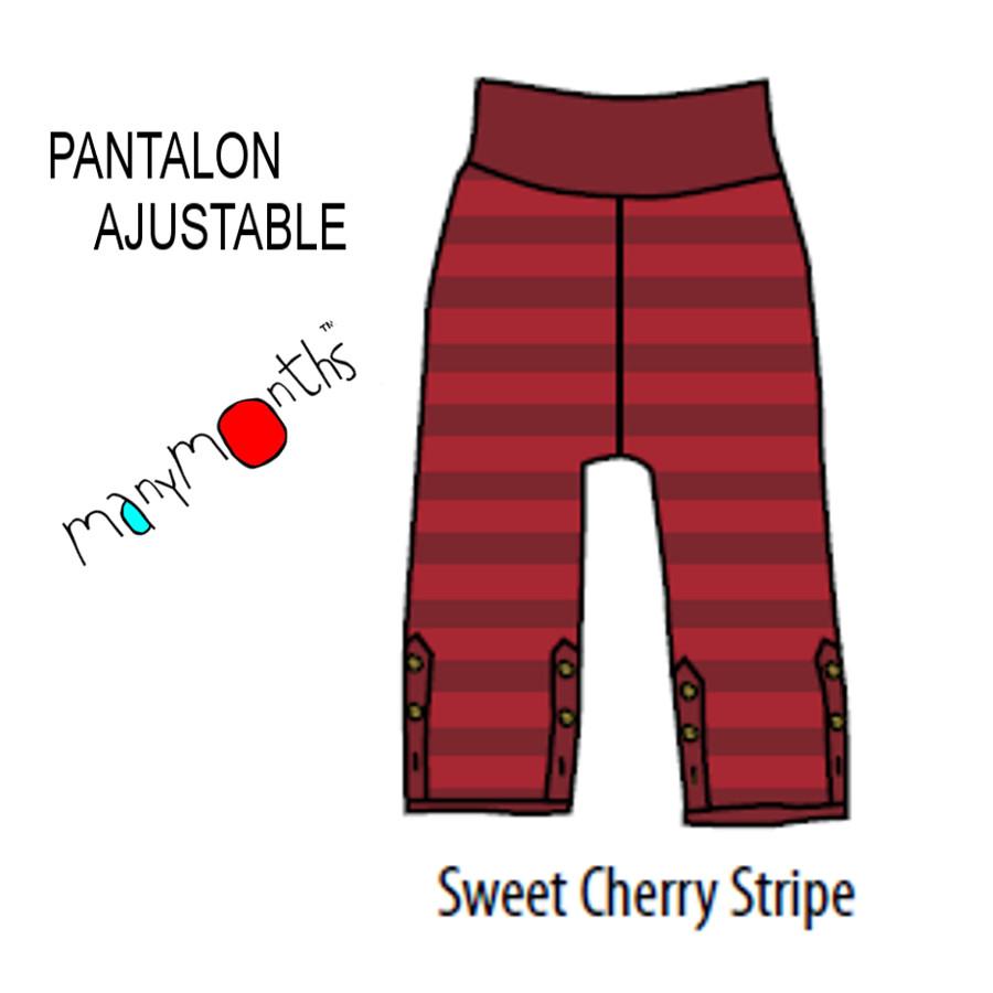 Racine MANYMONTHS – PANTALON AJUSTABLE en coton bio