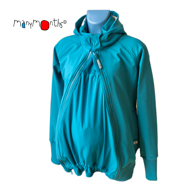 Racine MaM SOFTSHELL JACKET - OCEAN WATERS