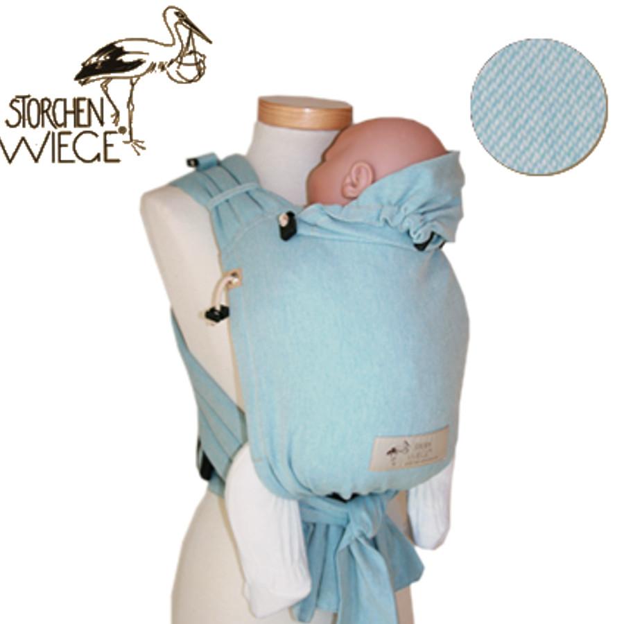 Babycarrier STORCHENWIEGE BABYCARRIER Storchenwiege Aqua