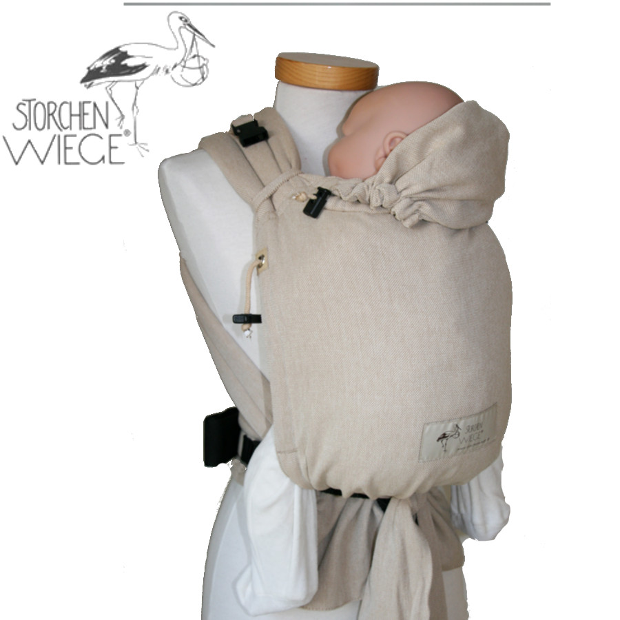 Babycarrier STORCHENWIEGE BABYCARRIER Storchenwiege Écru nature