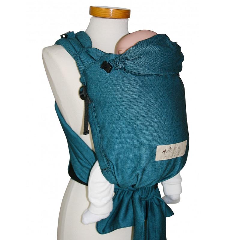 Babycarrier STORCHENWIEGE BABYCARRIER Storchenwiege SLIM Turquoise