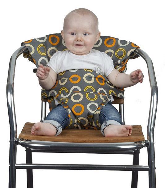 Coup de coeur Totseat : Chaise de voyage bébé pliable et lavable
