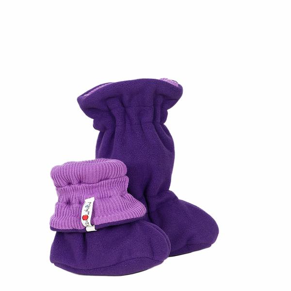 Chaussons de portage MANYMONTHS 2020-21 - Chaussons de portage ajustables et reversibles laine mérinos et polaire MaM TEC