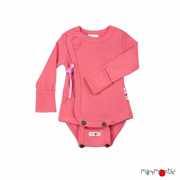Débardeurs, T-shirts, pulls, gilets, multicapes et bodys MANYMONTHS 2020-21- Body Kimono avec moufles intégrés