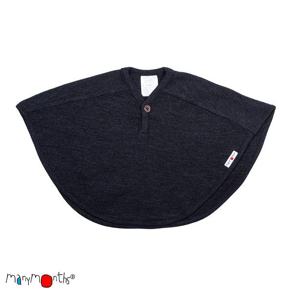Débardeurs, T-shirts, pulls, gilets, multicapes et bodys Manymonths 2021-22 - Multi-Cape en pure laine mérinos