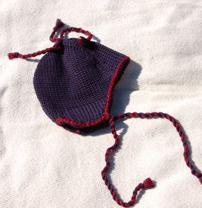 Racine Bonnet enfant en laine MAMAPONCHO