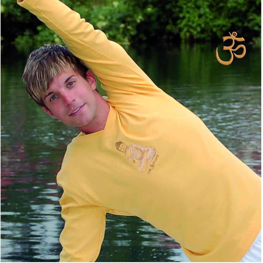 FIN DE SERIES - SPIRIT OF OM T-Shirt BOUDDHA SOLEIL homme