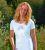 Racine T-Shirt manches courtes LOTUS ANANDA BLANC