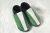 POLOLO SOFT - Chaussons souples en cuir naturel de tannage végétal Chausson Pololo SOCCER VERT (24 à 45)