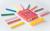 Loisirs Créatifs Jaq Jaq Bird - 12 Craies Colorées Zéro poussière + 1 Porte-craie
