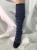 Chaussons en cuir souples, chaussettes, guêtres, jambières Hirsch 2019 - Chaussettes Hautes Adultes Flocons  100% pure laine mérinos bio