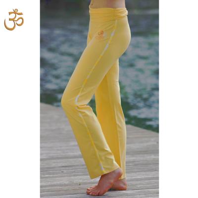 Pantalons Pantalon de yoga SOLEIL – broderie OM