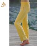 Racine/Pantalon de yoga SOLEIL – broderie OM
