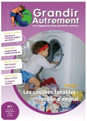 Racine GRANDIR AUTREMENT - N° 1 - LES COUCHES LAVABLES : MODE D'EMPLOI