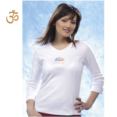 Racine T-Shirt OM NAMASTÉ manches longues