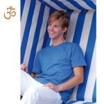 T-SHIRT Manches courtes/T-Shirt BASIC BLEU – OM