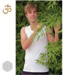 Racine/MARCEL – T-Shirt sans manches Bambou BLANC