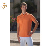 Racine/POLO ORANGE pour homme