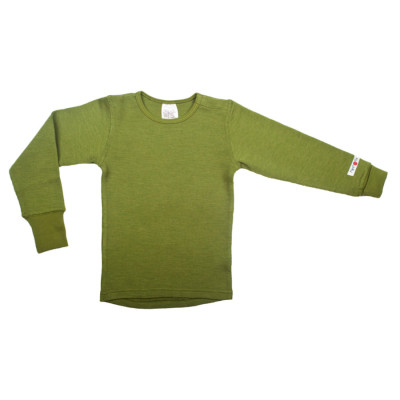 Laine 100% mérinos 2018-2019 MANYMONTHS - T-SHIRT ENFANT Manches longues en pure laine mérinos