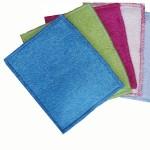 Les Tendances d'Emma - gamme ECO CHOU - Lingettes lavables, bavouillettes, serviettes pour la toilette de bébé/LOT DE 5 CARRES BEBE ECO CHOU