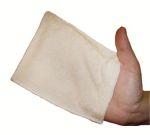 Les Tendances d'Emma - gamme ECO CHOU - Lingettes lavables, bavouillettes, serviettes pour la toilette de bébé/LOT DE 5 GANTS DE CHANGE ECO CHOU