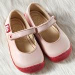 POLOLO MINI - chaussures en cuir naturel pour bébés du 19 au 25/POLOLO Ballerines GRANADA rosé (19 au 23)