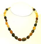 COLLIERS d'Ambre pour adultes/Collier d'Ambre OLIVES NATURELLES