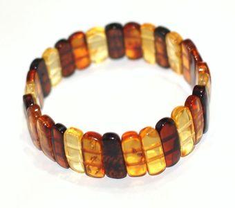 Bracelets Bracelets d'ambre PLAQUES MULTICOULEURS pour ADULTE
