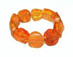 BRACELETS en Ambre/Bracelets d'ambre GROS BOUTONS SOLEIL pour ADULTE