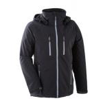 Vestes et manteaux MAMALILA outdoor/MAMALILA - Veste de portage OUTDOOR Homme - SOFTSHELL NOIR