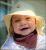 Bébé au soleil/ManyMonths - CHAPEAU DE SOLEIL AJUSTABLE