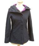 Vestes et manteaux MAMALILA outdoor/MAMALILA - Veste de grossesse et portage Softshell Sympatex Noir - Fuchsia