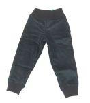 STORCHENKINDER ENFANT (tailles 86-140)/STORCHENKINDER – Pantalon fille ANTHRACITE velours côtelé coton bio