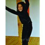 StorchenKinder/STORCHENKINDER –Pantalon de sport en velours de coton bio