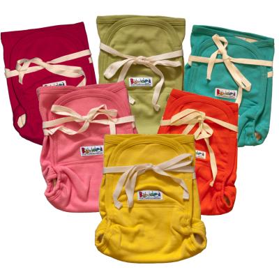 Pantalons et pantacourts Couches lavables HEMP HOUR STRAP SOFT SOY en soya, coton bio et chanvre - fermeture lacets
