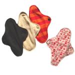 Mam EcoFit, Lunacopine, coussinets d'allaitement et carrés démaquillants/MaM ECOFIT MINI – Protège-slips lavables