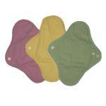 Mam EcoFit, Lunacopine, coussinets d'allaitement et carrés démaquillants/MaM ECOFIT REGULAR - Serviettes hygiéniques lavables