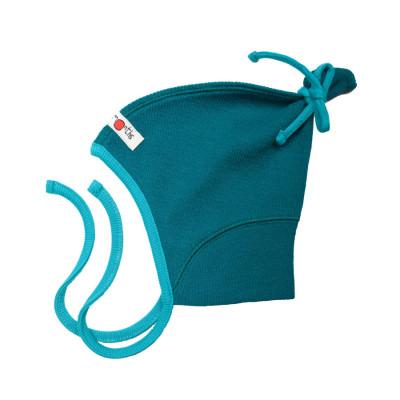 Laine 100% mérinos Ancienne Collection MANYMONTHS – PIXIE HAT – bonnet nourrisson en pure laine mérinos
