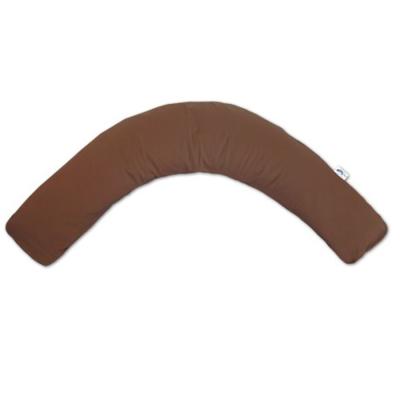Racine  «CHOCOLAT – JERSEY » - THERALINE CONFORT Coussin d'allaitement