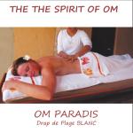 Racine/OM PARADIS – BLANC - SERVIETTES avec tourmaline micronisée