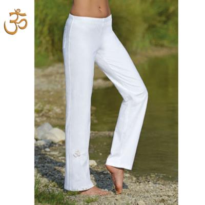 Pantalons PANTALON de yoga et bien-être BLANC