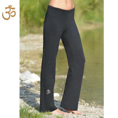 Pour homme PANTALON de yoga et bien-être NOIR