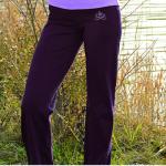Pantalons/PANTALON de yoga et bien-être AUBERGINE