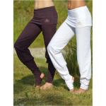 Racine/Pantalon de Yoga ASANA – BLANC