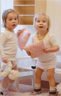 StorchenKinder Body et Sous-Pull pour bébé en coton bio flanelle